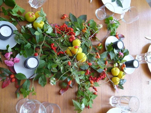 Matbordet grönskar