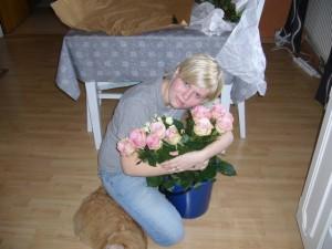 Jag och blommorna