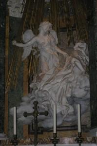 """""""Den heliga Teresa i extas"""" En av ledtrådarna"""